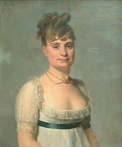 Madame Louis-Charles Maigret   Martin Drölling   Oil Painting