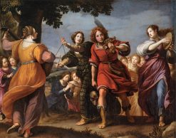 The Triumph of David | Matteo Rosselli | Oil Painting