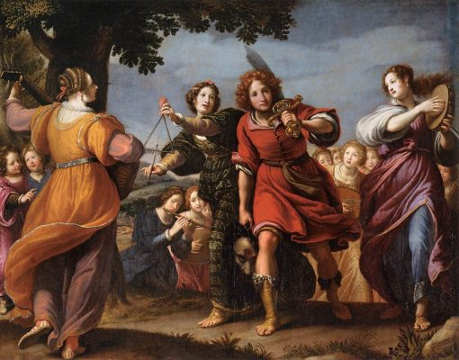 The Triumph of David   Matteo Rosselli   Oil Painting