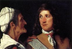 Young Man and a procuress | Michiel Sweerts | Oil Painting