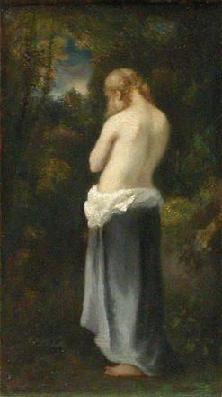L'éplorée (Tearful) | Narcisse Dìaz de la Peña | Oil Painting