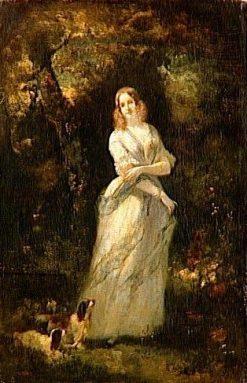 Madame Leclanche   Narcisse Dìaz de la Peña   Oil Painting