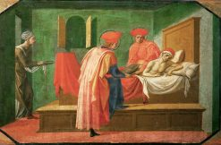 Saint Cosmas and Saint Damianus nursing a Sick Man | Pesellino | Oil Painting
