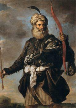 Oriental Warrior | Pier Francesco Mola | Oil Painting