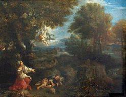 Hagar and the Angel | Pier Francesco Mola | Oil Painting