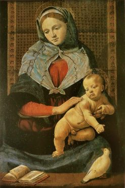 Madonna and Child with a Dove | Piero di Cosimo | Oil Painting