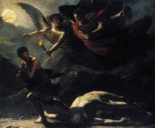 Justice and Divine Vengeance Pursuing Crime | Pierre Paul Prud'hon | Oil Painting