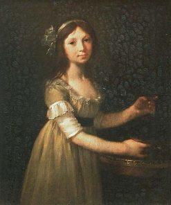 Portrait de Marie-Marguerite Lagnier (1786-1840) | Pierre Paul Prud'hon | Oil Painting