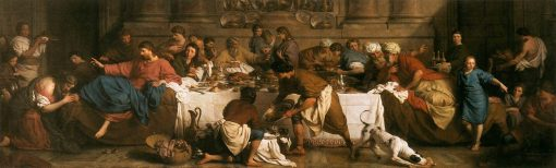 The Feast in the House of Simon | Pierre Subleyras | Oil Painting