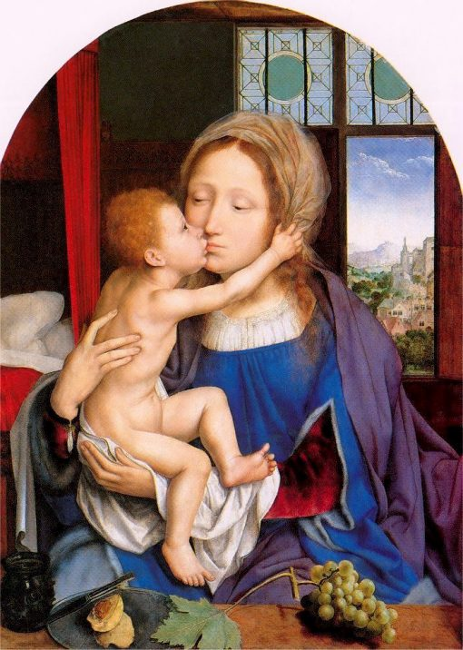 Madonna and Child | Quentin Massys | Oil Painting