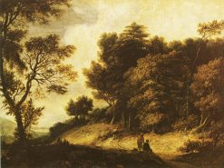 Landscape with Figures | Roelant Roghman | Oil Painting