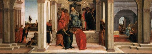 Three Scenes from the Story of Esther | Sandro Botticelli | Oil Painting