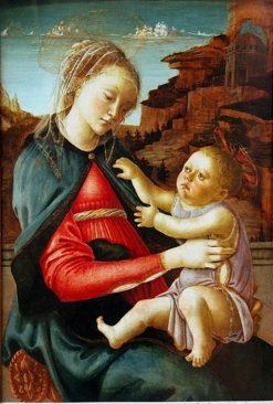 Madonna and Child(also known as 'Madonna of the Guidi da Faenza') | Sandro Botticelli | Oil Painting