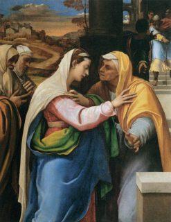 The Visitation | Sebastiano del Piombo | Oil Painting