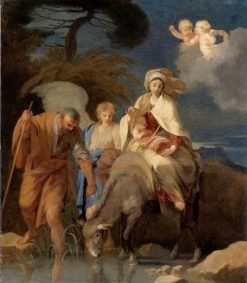 Flight into Egypt | Sebastien Bourdon | Oil Painting