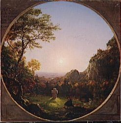The Solitary Cross | Thomas Cole | Oil Painting