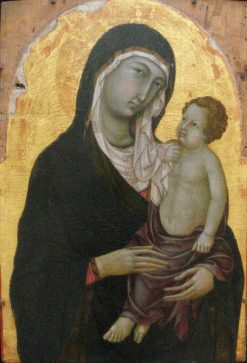Madonna and Child | Ugolino di Nerio | Oil Painting