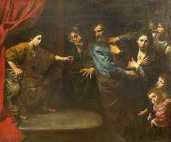 Daniel Proclaims Susannah's Innocence | Valentin de Boulogne | Oil Painting