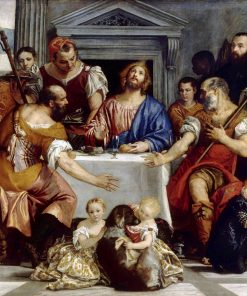 Banquet Scene - Supper at Emmaus | Veronese | Oil Painting