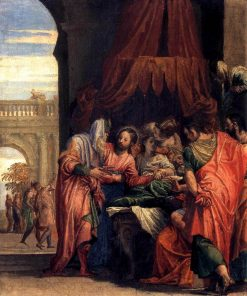 Raising of the Daughter of Jairus | Veronese | Oil Painting