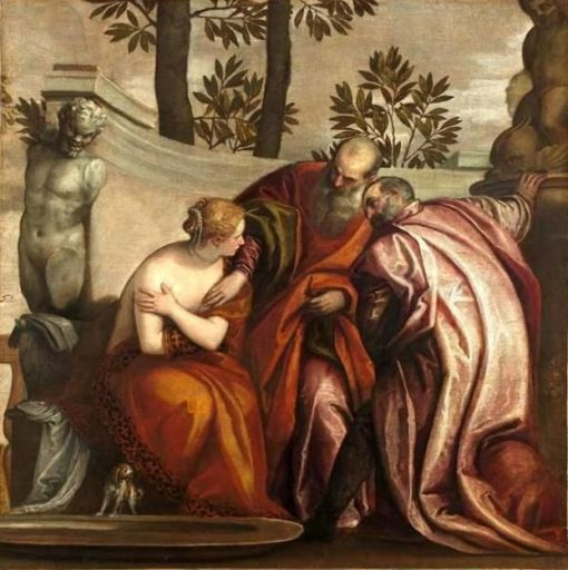 Heroines of the Old Testament - Susanna and the Elders | Veronese | Oil Painting