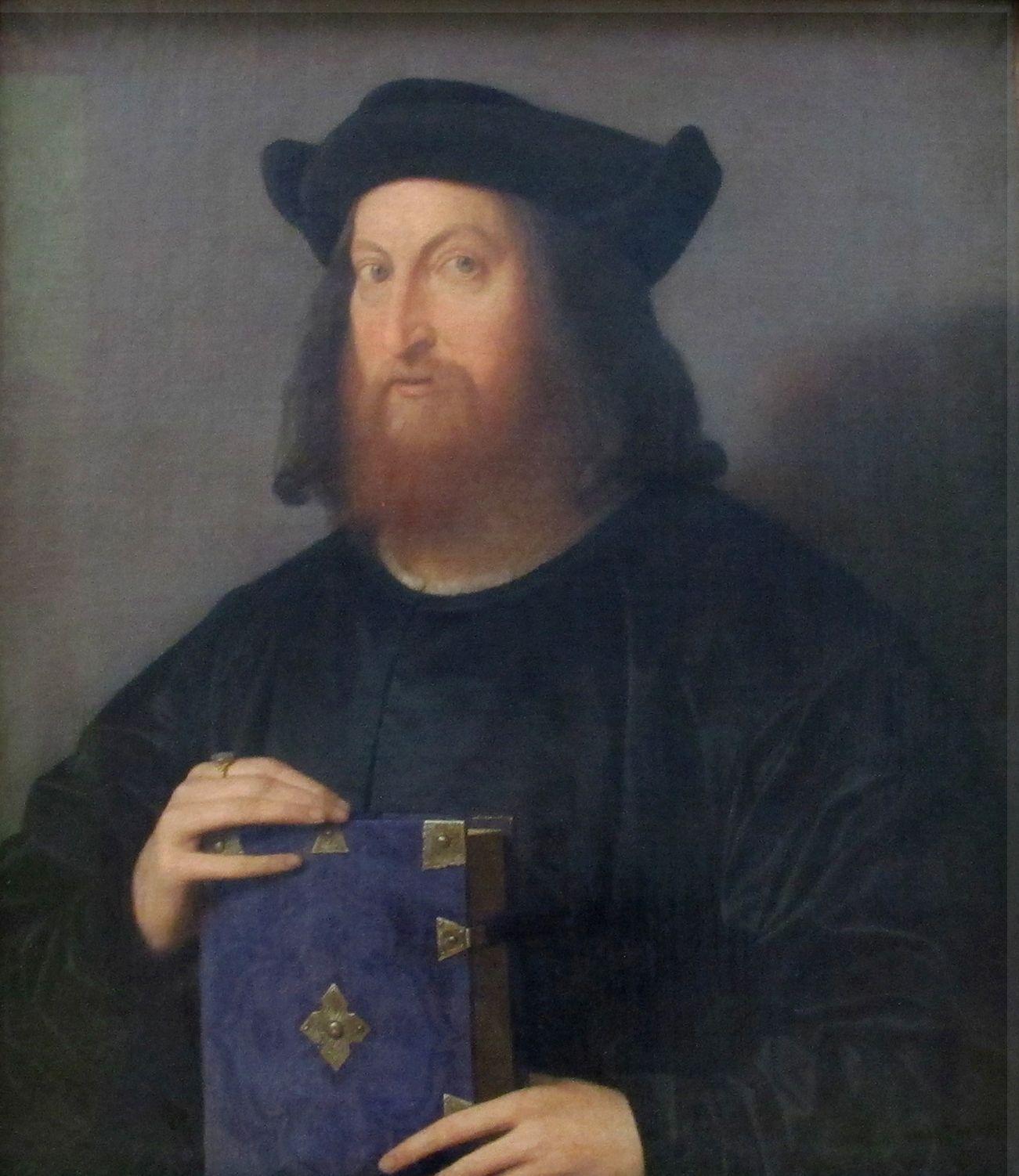Giangiorgio Trissino   Vincenzo Catena   Oil Painting