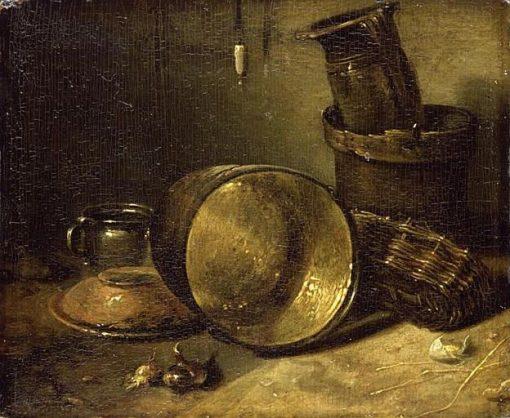 Kitchen Utensils | Willem Kalf | Oil Painting