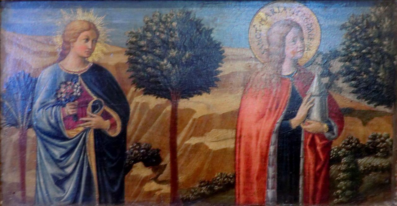 Une bienheureuse et Sainte Madeleine | Benozzo Gozzoli | Oil Painting