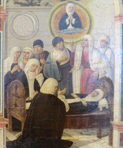 Death of Saint Catherine of Siena   Benvenuto di Giovanni   Oil Painting
