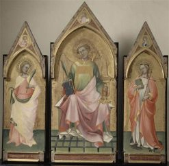 Triptych of Saint Lawrence | Lorenzo Monaco | Oil Painting