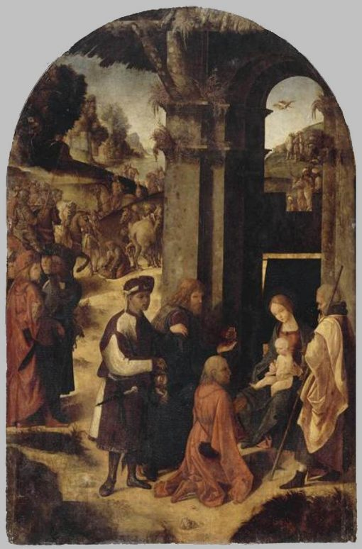 Adoration of the Magi | Ludovico Mazzolino | Oil Painting