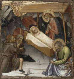 Scenes from the Life of Christ: Nativity | Mariotto di Nardo | Oil Painting