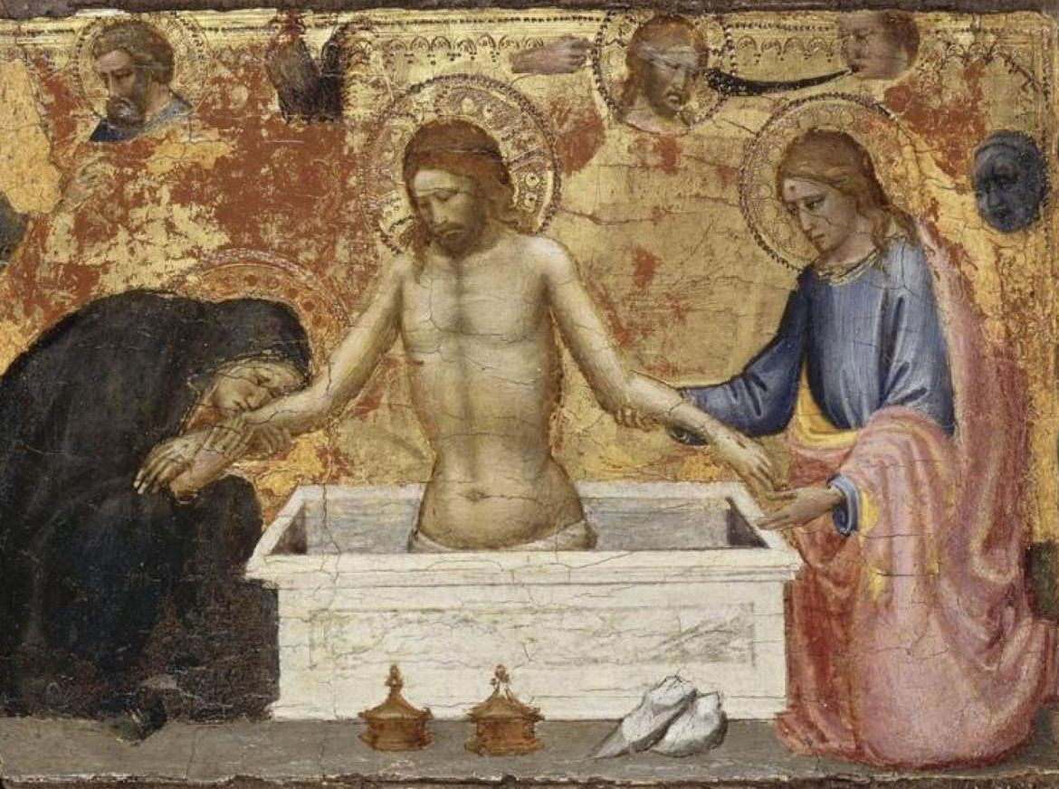 Scenes from the Life of Christ: Christ in the Tomb   Mariotto di Nardo   Oil Painting