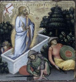 Scenes from the Life of Christ: Resurrection   Mariotto di Nardo   Oil Painting