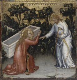 Scenes from the Life of Christ: Noli me tangere   Mariotto di Nardo   Oil Painting