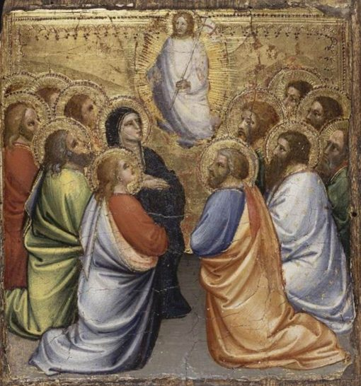 Scenes from the Life of Christ: Ascension | Mariotto di Nardo | Oil Painting
