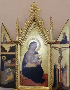 The Virgin of Humility with Saints | Niccolò di Tommaso | Oil Painting