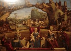 Saint Conversation | Vittore Carpaccio | Oil Painting