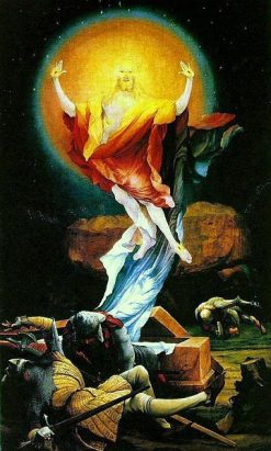 The Issenheim Altarpiece (Detail - The Resurrection) | Matthias Grunewald | Oil Painting