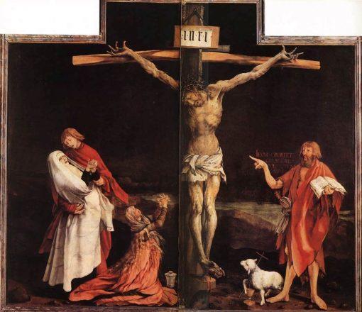 Isenheimer Altarpiece ~ The Crucifixion | Matthias Grunewald | Oil Painting