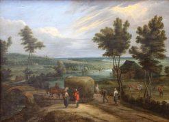 Summer Landscape | Lucas van Uden | Oil Painting