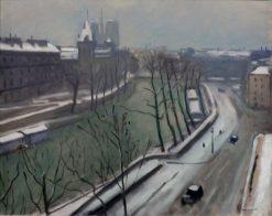 Quai des Grands Augustins | Albert Marquet | Oil Painting
