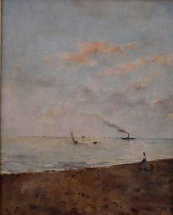 Marine | Alfred Emile LEopold Stevens | Oil Painting