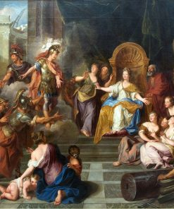 The Aeneid - Aeneas and Achates Appearing to Dido | Antoine Coypel II | Oil Painting