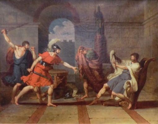 Timoleon   Charles Meynier   Oil Painting