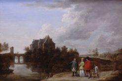 Landscape with Castle | David Teniers II | Oil Painting