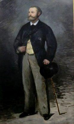 Portrait of Antonin Proust | Edouard Manet | Oil Painting