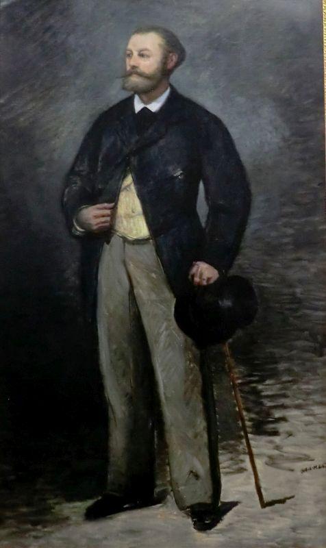 Portrait of Antonin Proust   Edouard Manet   Oil Painting