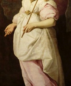The Angel Gabriel | Francisco de Zurbaran | Oil Painting