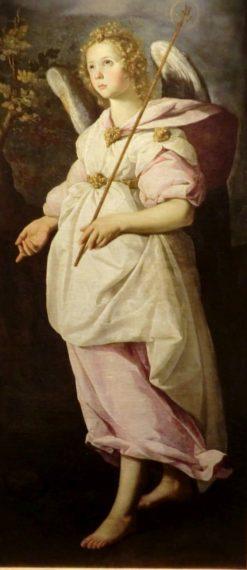 The Angel Gabriel   Francisco de Zurbaran   Oil Painting